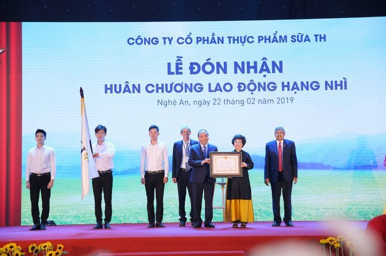 Opening Ceremony of TH Pure Water, Herbs and Juice Factory and Received Medal of Labor Medal