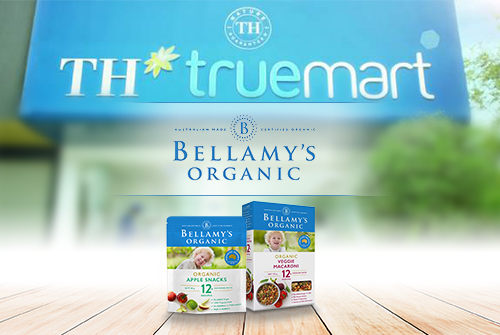 Bellamy's Organic officially present at TH true mart