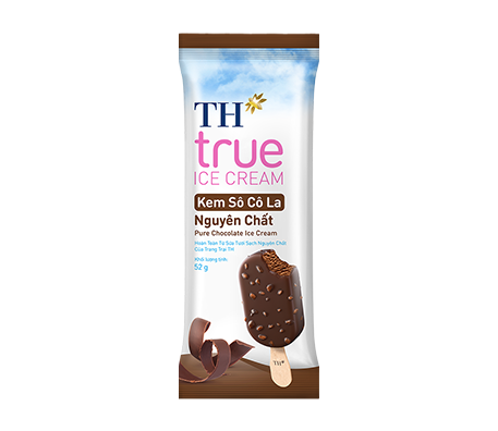 TH true ICE CREAM Pure Chocolate Ice Cream