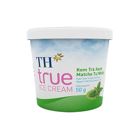 TH true ICE CREAM Natural Matcha Green Tea Ice Cream 50 g