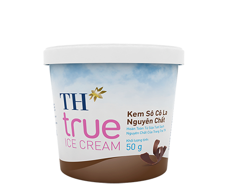 TH true ICE CREAM Pure Chocolate Ice Cream 50 g