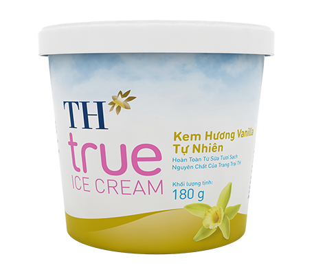 Natural Vanilla Ice Cream – Cup 180 g