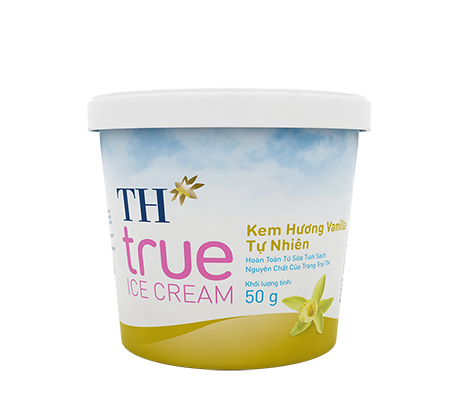 TH true ICE CREAM Natural Vanilla Ice Cream