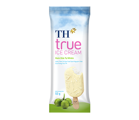 TH true ICE CREAM Natural Coconut Ice Cream