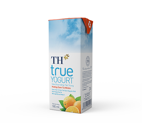 UHT Drinking Yogurt Natural Orange