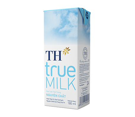TH true MILK UHT Pure Fresh Milk (180ml)