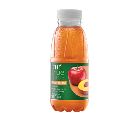 NATURAL JUICE – PEACH APPLE (96.73% APPLE JUICE, 3.2% PEACH JUICE) – TH TRUE JUICE