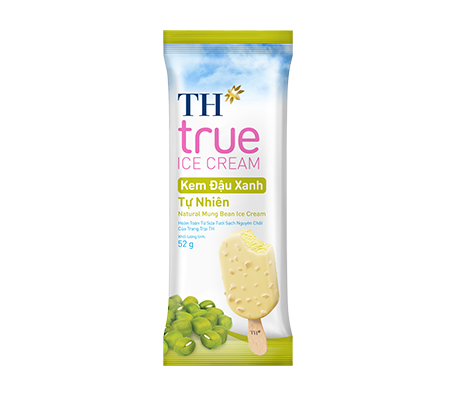 TH true ICE CREAM Natural Mung Bean Ice Cream Stick