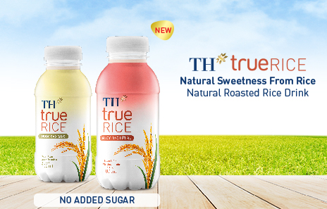 TH true RICE red brown rice water – More choices for fans who love healthy rice drinks