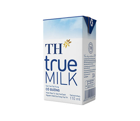 TH true MILK UHT Sweetened Fresh Milk (110ml)