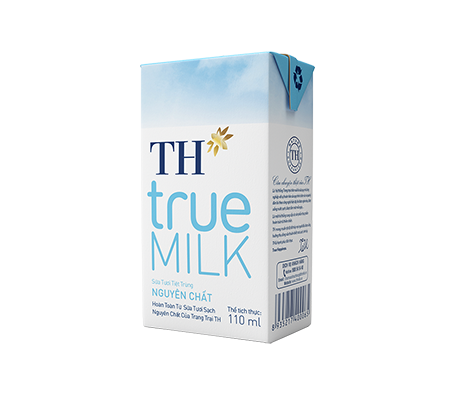 TH true MILK UHT Pure Fresh Milk (110ml)