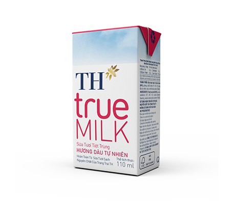 TH true MILK UHT Strawberry Fresh Milk (110ml)